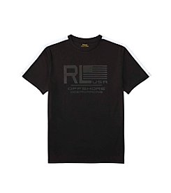 Polo Ralph Lauren® Boys' 8-20 Mesh Crew Neck Tee