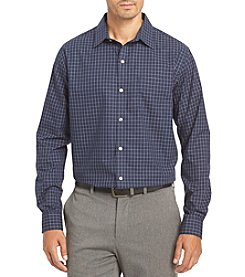 Van Heusen® Men's Big & Tall Long Sleeve Travler Button Down Shirt