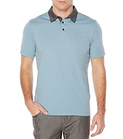 Perry Ellis® Men's Short Sleeve Chambray Polo