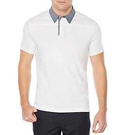 Perry Ellis® Men's Short Sleeve Prima Polo
