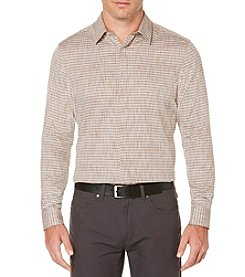Perry Ellis® Men's Long Sleeve Fashion Woven Shirt