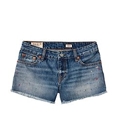 Polo Ralph Lauren® Girls' 7-16 Paint Splat Shorts