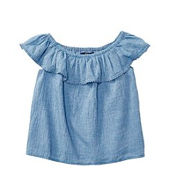 Polo Ralph Lauren® Girls' 7-16 Chambray Top
