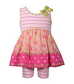 Bonnie Jean® Baby Girls' Bike Shorts Set