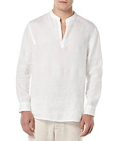 Perry Ellis® Men's Long Sleeve Linen Shirt