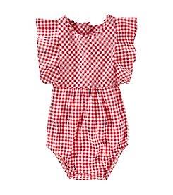 OshKosh B'Gosh® Baby Girls' Ruffle Sleeve Bodysuit