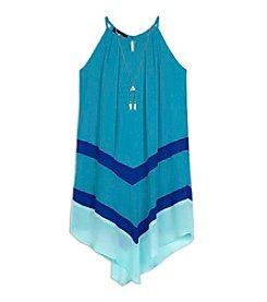 Amy Byer Girls' 7-16 Halter Dress