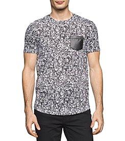 Calvin Klein Men's Short Sleeve Printed Tee
