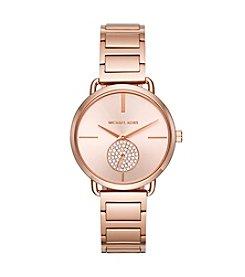 Michael Kors® Portia Two Hand Subdial Watch