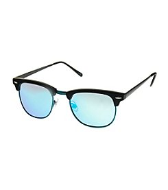 Paradise Collection® Young Mens Retro Square Sunglasses