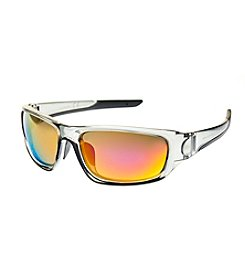 Paradise Collection® Smoke Crystal Co Injected Wrap Sunglasses