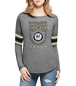 47 Brand MLB® Milwaukee Brewers Women's Courtside Tee