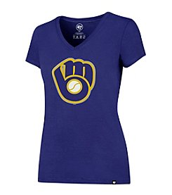 47 Brand MLB® Milwaukee Brewers Women's Clutch Splitter Tee