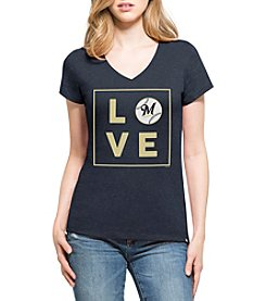 47 Brand MLB® Milwaukee Brewers Women's Club Tee