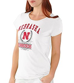 G III NCAA® Nebraska Cornhuskers Women's End Zone Tee