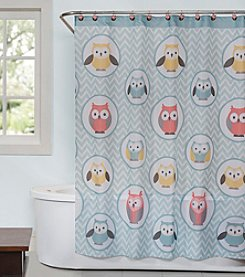 Saturday Knight, Ltd.® Owlet Shower Curtain