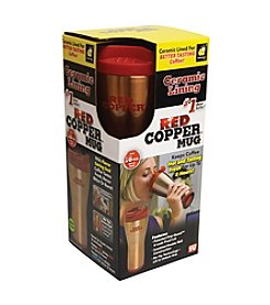 As Seen on TV Red Copper Travel Mug