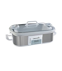 Crock-Pot® Stainless Steel Slow Cooker