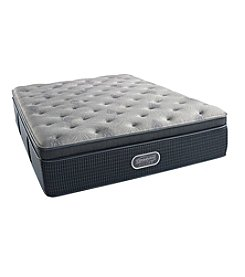 Beautyrest® Silver Danica™ Plush Pillow Top Twin Mattress & Box Spring Set