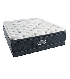 Beautyrest® Silver Carmen™ Luxury Firm Pillowtop Twin XL Mattress & Box Spring Set