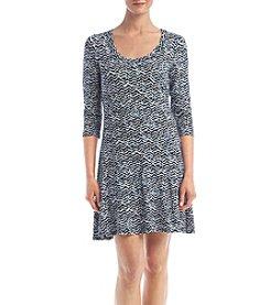 Karen Kane® Printed Aline Dress