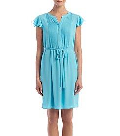 Nine West® Flutter Sleeve Dress