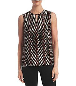 Kasper® Multi Dots Blouse