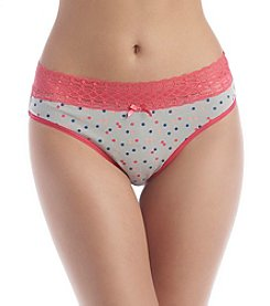 Relativity® Confetti Dot Hipster Panties
