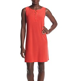 Prelude® Petites' Zip Neckline Dress
