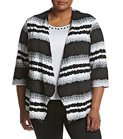 Alfred Dunner® Plus Size Layered Look Top