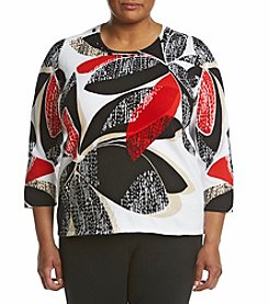 Alfred Dunner® Plus Size Printed Top