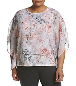 Alfred Dunner® Plus Size Printed Woven Top