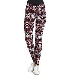 Pink Rose® Geo Knit Leggings