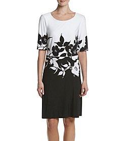 Connected® Floral Colorblock Dress
