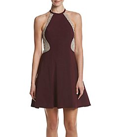 Xscape Beaded Cocktail Dress