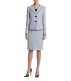 LeSuit® Two-Button Skirt Suit