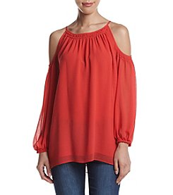 Max Studio Edit™ Cold Shoulder Blouse