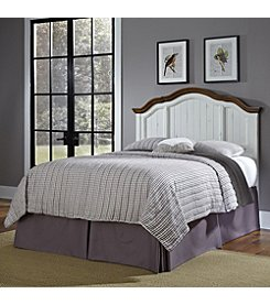 Home Styles® French Countryside Oak and Rubbed White Headboard