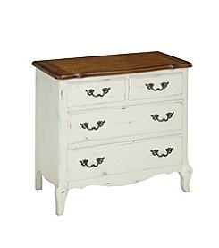 Home Styles® French Countryside Oak and Rubbed White Chest