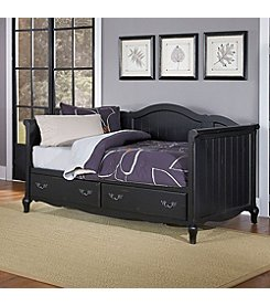 Home Styles® French Countryside Oak and Rubbed Black Daybed