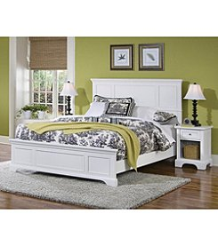 Home Styles® Naples White Bed and Night Stand Set