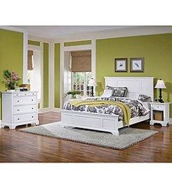 Home Styles® Naples White Bed Collection