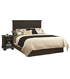 Home Styles® Bedford Black Headboard and Night Stand Set