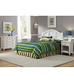 Home Styles® Bermuda Brushed White Headboard Collection
