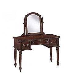 Home Styles® Colonial Classic Dark Cherry Vanity and Mirror