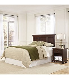 Home Styles® Colonial Classic Dark Cherry Headboard and Night Stand Set