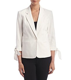 Nine West® Tie Cuff Jacket