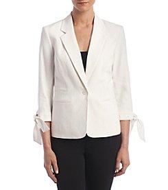Nine West® Tie Cuff Jacket