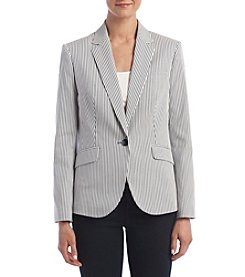Nine West® Striped Jacket