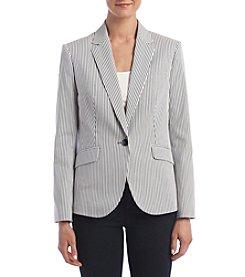 Nine West® Striped Jacket